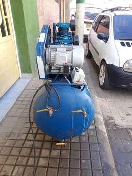 Vendopermuto compresor de aire. Uso industrial