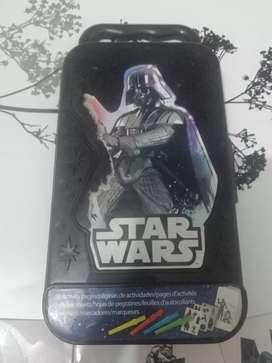 Caja de Actividades Star Wars, caja de coleccion