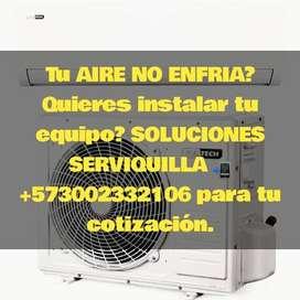 instalacion reparacion mantenimiento de aires split