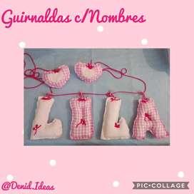 Guirnalda c/ Nombres