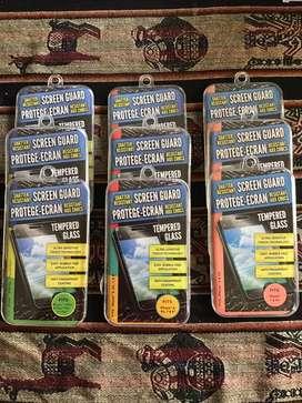 Lote de vidrios templados para distintos modelos de iphone 6,7,8,x y xs