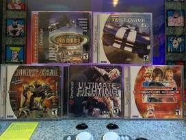 Lote Dreamcast Como Nuevos