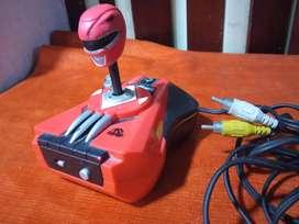 Es una consola power ranger Plug play tv Games Power Ranger modelo