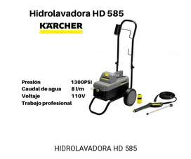 Hidrolavadora Karcher Hd 585