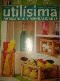 Utilisima Artesanias Y Manualidades Nro 2 --fanales-marcos