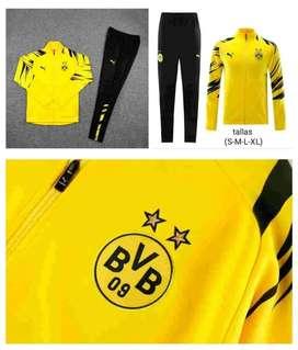 Sudadera Fútbol Borussia Dortmund Amarillo Negro