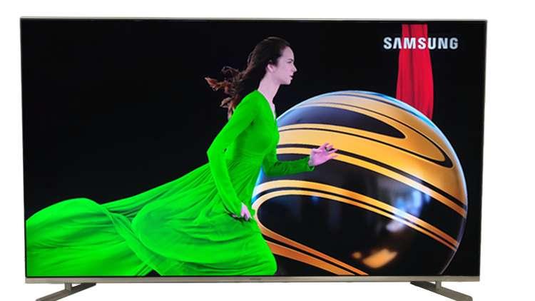 "SAMSUNG TV QLED Q6F 4K 55"" PULGADAS COMO NUEVO 0"