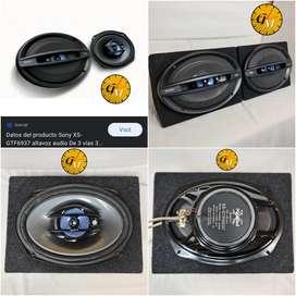 Juego de Parlantes Sony Xplod XS-GT6937, Bocinas 6x9- 3 Vías, Potencia 400W, Bobina 4-OMS, Alta Calidad.