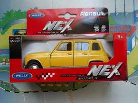 Renault 4 escala para coleccionistas