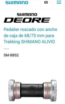 caja central shimano Hollowtech2 BB-52 nuevas