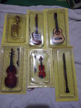 Instrumentos Miniatura Coleccionables