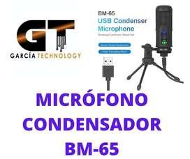 MICRÓFONO CONDENSADOR BM-65