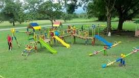 juego infantil en madera