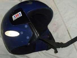 antiguo casco moto KARTING ABIERTO  LINIERS