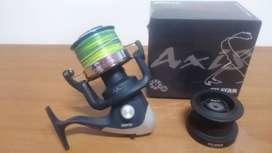Reel Silstar Axis 8 Lance De Mar Y Rio 8 Rulemanes