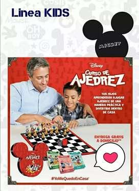 Ajedrez Mickey mouse - Minnie mouse - Disney