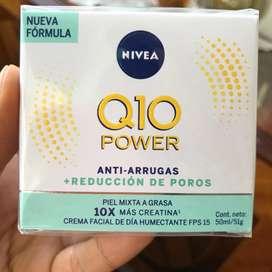 Nivea Q10 crema hidratante Antiarrugas