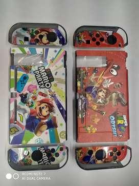 Estuche o carcaza protectora para Nintendo switch en acrilico