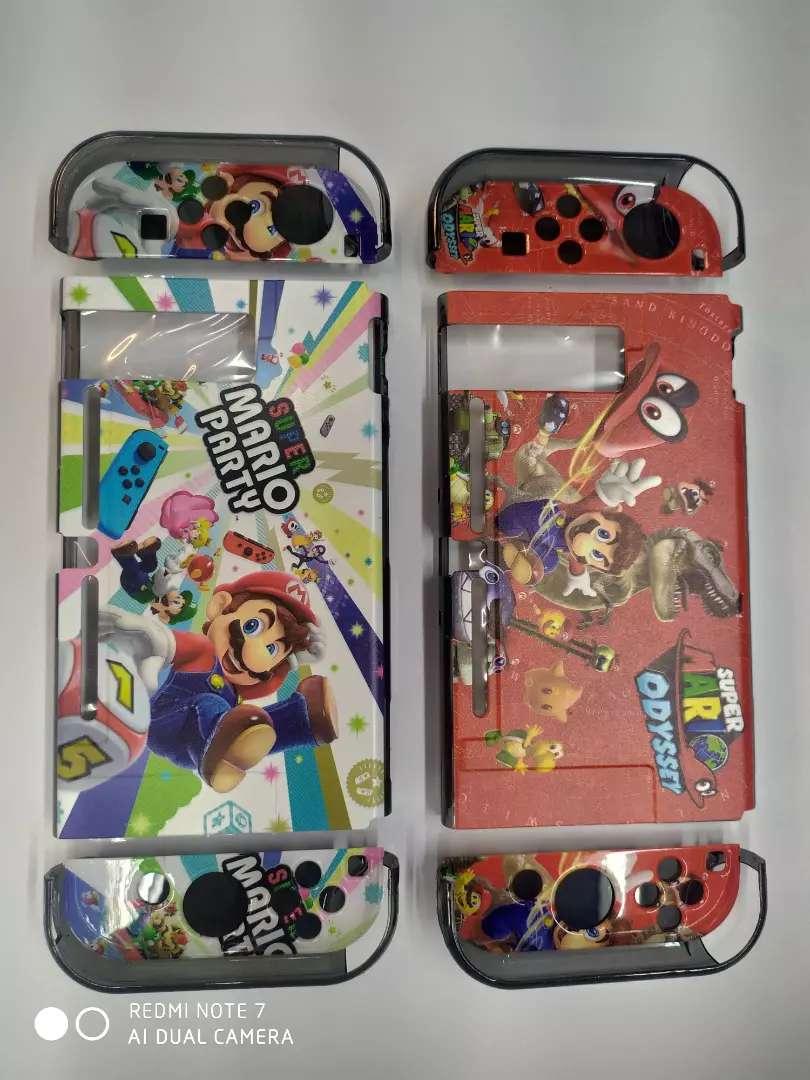 Estuche o carcaza protectora para Nintendo switch en acrilico 0