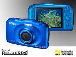 Camara Nikon Coolpix W100 13mp Resistente Al Agua Y Golpes