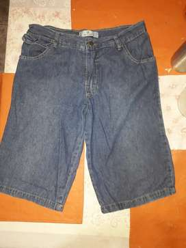 Oferta bermudas jeans talle 16