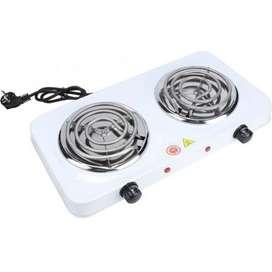 Estufa eléctrica dos puestos 5 niveles temperatura