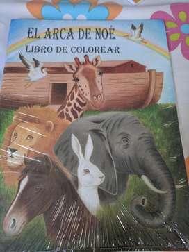 Libro Biblico para Colorear Al Mayor