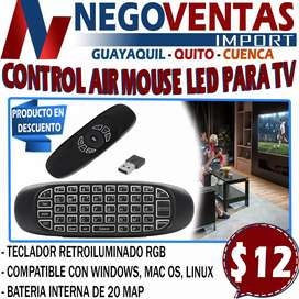TECLADO AIR MOUSES INALAMBRICO PARA TV