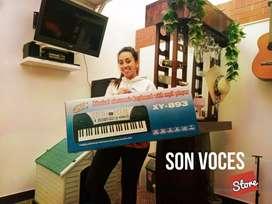 Teclado, Órgano electrónico, Piano para estudio