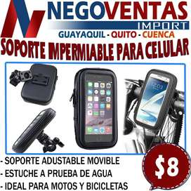 SOPORTE IMPERMEABLE PARA CELULAR EN DESCUENTO EXCLUSIVO DE NEGOVENTAS