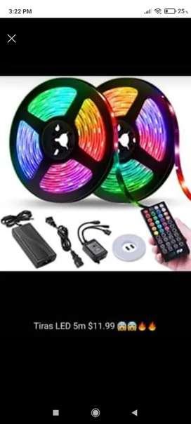 Tira de luces LEDS RGB 5 METROS