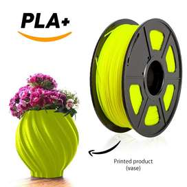 Filamento Pla Premium Impresora 3d  1kg color amarillo