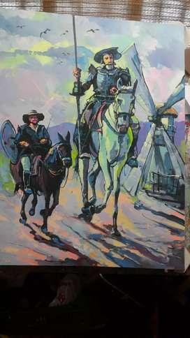 Vendo El Quijote del maestro Pineda