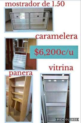 Muebles para tu negocio hace tu pedido es con envio gratis!!