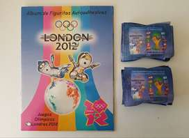 Álbum De Figuritas London 2012 Y Eliminatorias Brasil 2014 Más 100 Sobres Cerrados