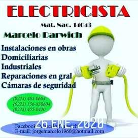 TECNICO ELECTRICISTA MATRICULADO.