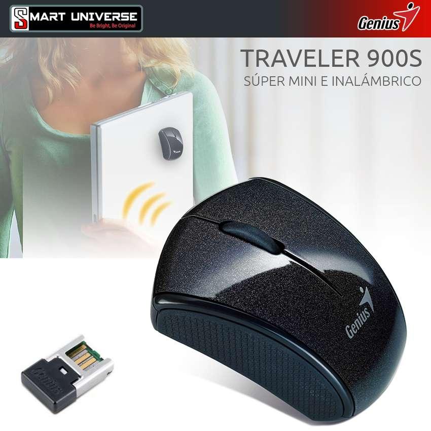 Mini Mouse Micro Traveler 900s Inalámbrico Genius Wireless 0