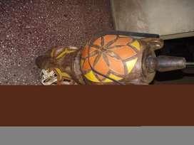 Lampara Antigua de Ceramica