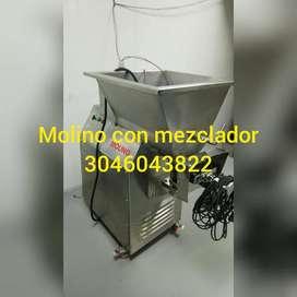 Molino Con Mezclador