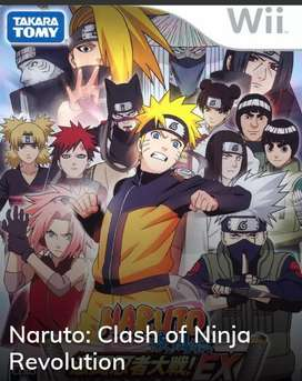 Videojuego Wii Ninja Naruto Revolution