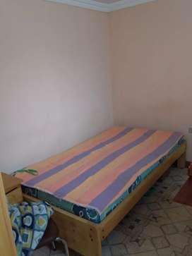 Se arrienda una habitación totalmente amoblado para persona sola de preferencia para el hospital docente Ambato