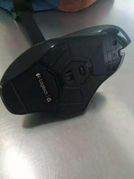 Mouse gamer g602 logitech inalambrico 11 botones