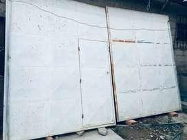 Porton  de garage metalico (negociable)