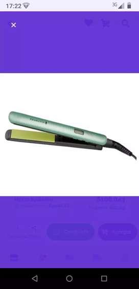 Espectacular plancha  Remington con infusion de aguacate y macadamia