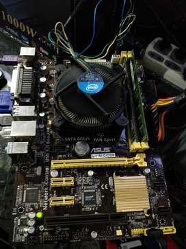 Board Asus H81 Intel Core I5 4570