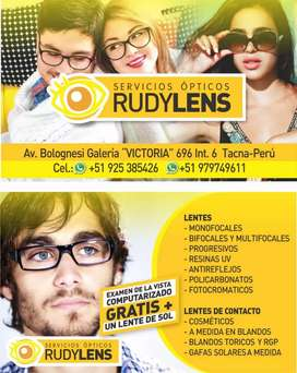 Óptica Rudy Lens.