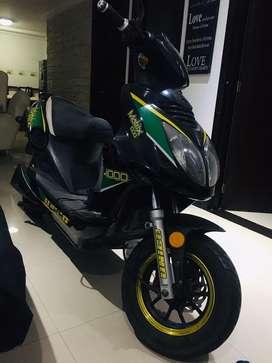 Moto electrica como nueva poco uso bateria nueva