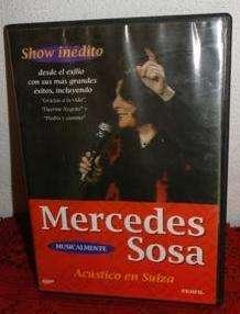 MERCEDES SOSA SHOW INÉDITO ACÚSTICO EN SUIZA DVD en LA CUMBREPUNILLA