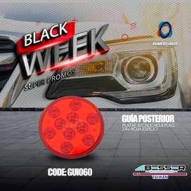 GUIAS POSTERIORES DE OFERTA BLACK FRIDAY - 24 VOLTIOS PARA BUSES, CAMIONES, TRAILERS