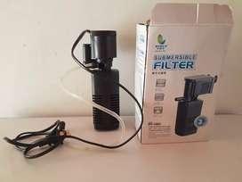 Filtro y oxigenador